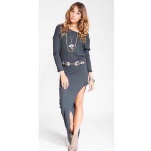 NWT Stillwater | The Mojave maxi shirt dress